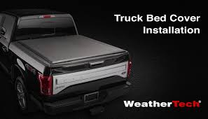 Dodge 1500 Truck Bed Cover - weathertech roll up truck bed cover installation video youtube