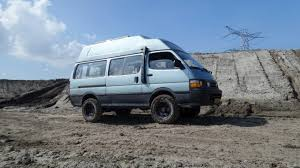 toyota hiace 4x4 after raising the suspension hiace 4wd 4x4 hi