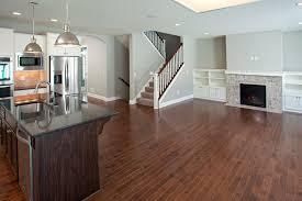 cobblestone france open floor plan dark hardwood floors ridge