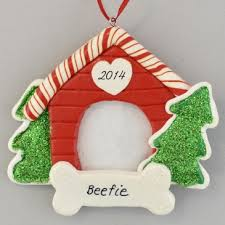 house photo frame personalized clay dough ornament calliope