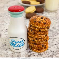 cute salt and pepper shakers milk and cookies magnetic salt and pepper shakers ceramic s u0026 p