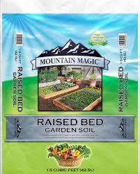 raised bed garden soil box garden mix mountain west