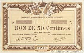 chambre de commerce var 50 centimes spécimen regionalism and miscellaneous 1915 jp