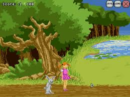 adventures of rabbit retro news educating adventures of girl and rabbit a