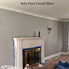 french silver by behr paint a beautiful gray decorate paint