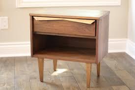 bedroom nightstand hidden drawer nightstand unfinished pine