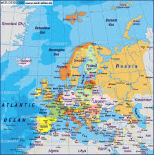 map of europe with country names and capitals europe map with all countries major tourist attractions