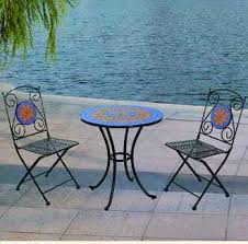 Mosaic Bistro Table Garden Patio Sets 2013 New Ceramic Tiles Mosaic Bistro Table And