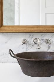 galvanized metal bathroom sink design ideas