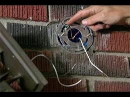 install outdoor garage lights how to install an entry light this old house youtube