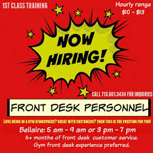 gyms hiring front desk near me bright and modern gyms hiring front desk wisconsin university of