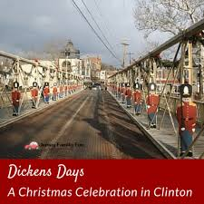 dickens days a christmas celebration in clinton jersey family fun