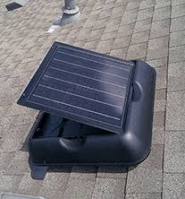 attic exhaust fan solar gable fan