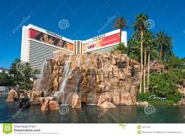 Hotel Map Las Vegas Strip by The Mirage Hotel In Las Vegas Strip Editorial Photo Image 34977561