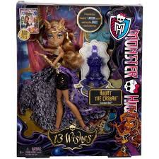 Howleen Wolf 13 Wishes Monster High 13 Wishes Haunt The Casbah Clawdeen Wolf Doll
