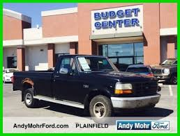 used ford work trucks for sale used 93 ford f150 xl 4 9l v6 auto 4x4 work truck black