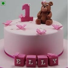 send romantic teddy cake online by giftjaipur in rajasthan