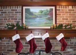 decor u2013 christmas stockings fireplace the enchanted manor