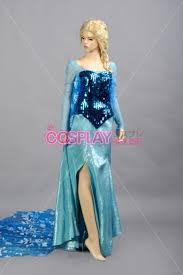 disney frozen elsa cosplay costume version 01 frozen