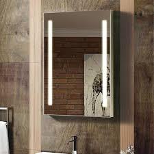 bathroom cabinets galactic illuminated led mirror cabinet and