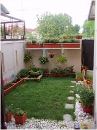 Backyard Gravel Ideas - backyards mesmerizing beautifull garden with white gravel near