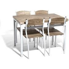 table de cuisine avec chaise table de cuisine pliante avec chaises intégrées collection et table