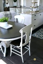 Painted Dining Table Ideas Painted Kitchen Chairs Impressive Painted Kitchen Table Dining