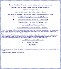 discount wedding programs event creations usa wedding and social invitations favors chair