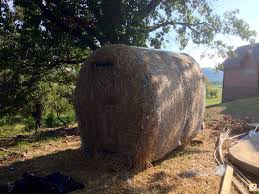 How To Make A Hay Bail Blind Hay Bale Blind Arkansas Hunting Your Arkansas Hunting Resource