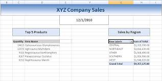 Sale Report Template Excel Automating Complex Excel Reports In Version 2 7 Toad Data