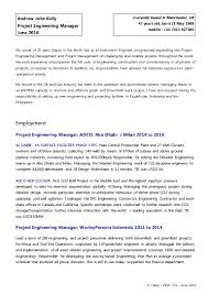 Resume Engineering Manager Project Engineer Resume Oil And Gas Free Resume Example And