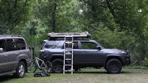 jeep roof top tent deploying our fsr adventure series m49 roof top tent youtube