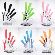 couteau cuisine ceramique couteau en céramique ensemble éplucheur titulaire 3 4 5 6 cuisine