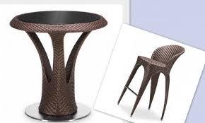 Rattan Bar Table Furniture Enchanting Rattan Bar Stools For Inspiring Furniture