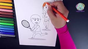 coloring pages 40 sporty childrens 2 drawing to color for kids