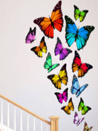 buy destudio multicoloured butterfly wall sticker decals and buy destudio multicoloured butterfly wall sticker decals and stickers for unisex myntra