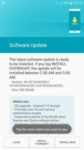 update android os update galaxy a7 2016 android 7 0 nougat hits the galaxy