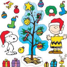 peanut christmas tree a brown christmas bulletin board set