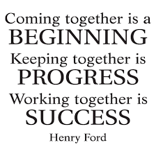 working together is success wall quotes decal wallquotes
