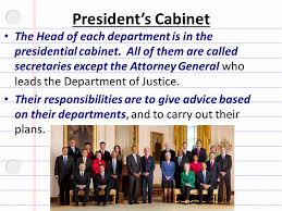 Define Cabinet Departments Define The Following Vocabulary Terms In Your Warm Up Section