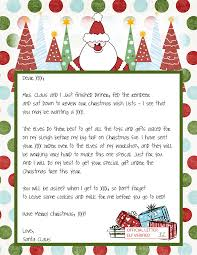letters from santa claus printable blank santa claus free large images pinteres