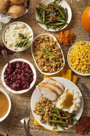 thanksgiving thanksgiving food list to buy template