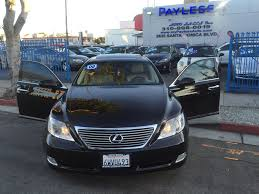 lexus santa monica used used 2008 lexus ls 460 xdrive35i at payless auto sales