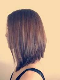 short hairstyles longer in front shorter in back triangle haircut médium hairstyle hair styles hair beauty hair