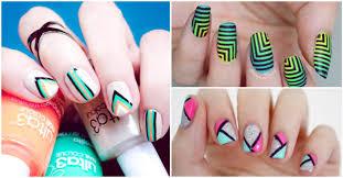 figuras geometricas uñas diseños de uñas que debes probar alguna vez yo amo los zapatos