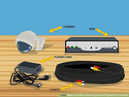How To Plumb A House by 3 Ways To Install A Security Camera System For A House Wikihow