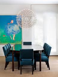Blue Dining Rooms Blue Dining Room Chairs Home Decor Gallery