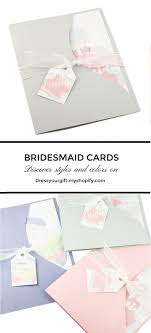 bridesmaids invite grey bridesmaid invitation will you be my bridesmaid card of