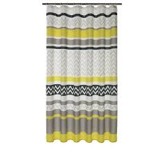 Charcoal Shower Curtain Buy Home Chevron Shower Curtain Charcoal And Grey At Argos Co Uk