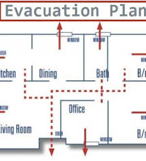 6 evacuation plan templates free sample example business